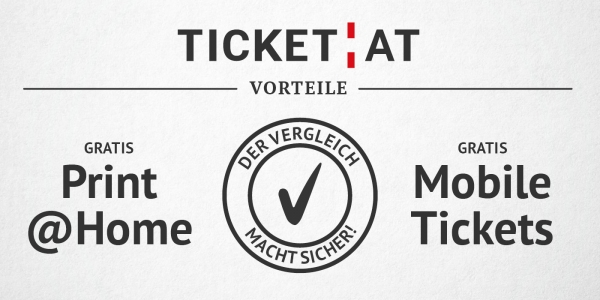 TICKET.AT Vorteile Box © TICKET.AT