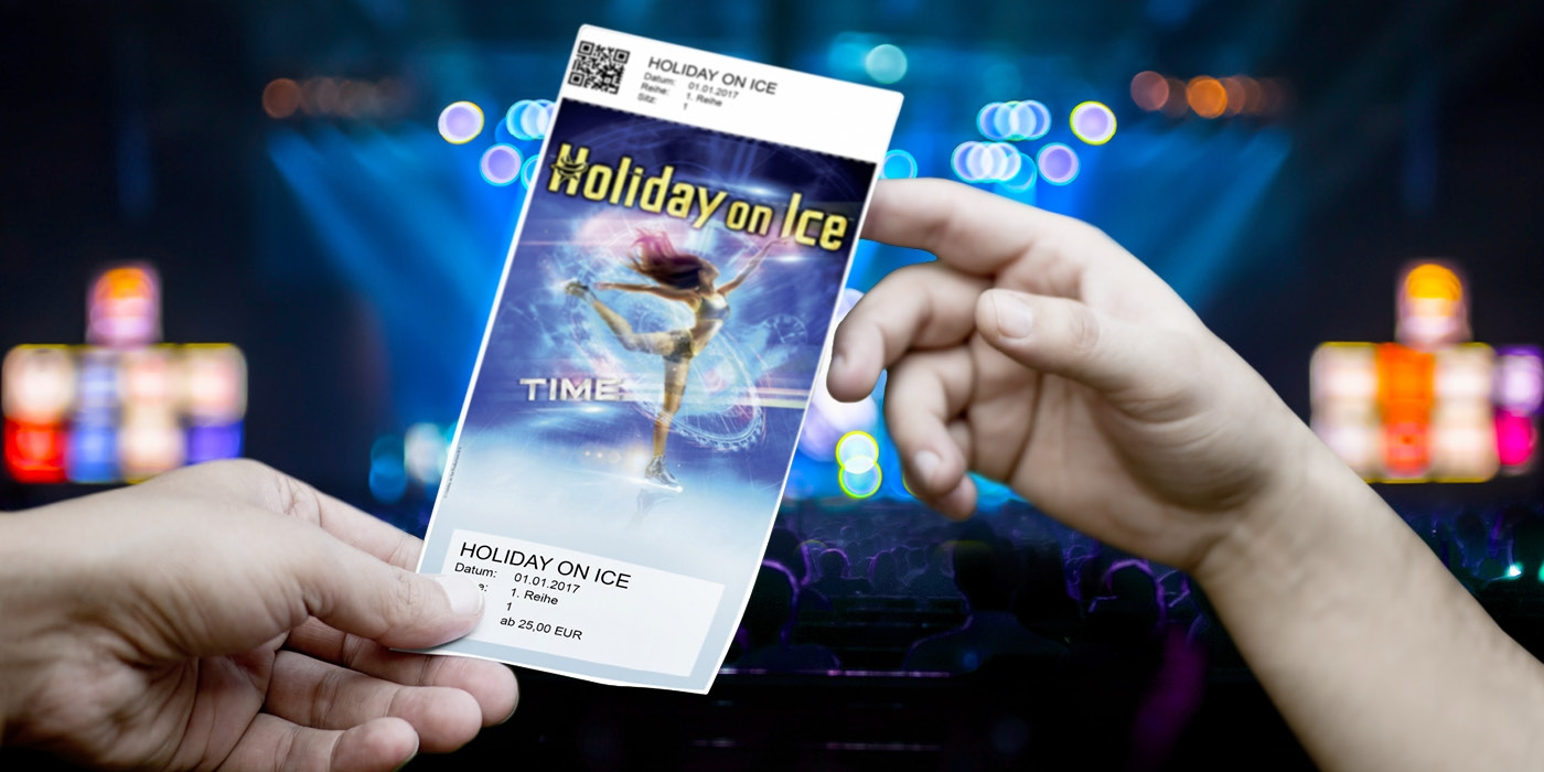 Holiday on Ice, Time TICKET für FANs ©TICKET.AT