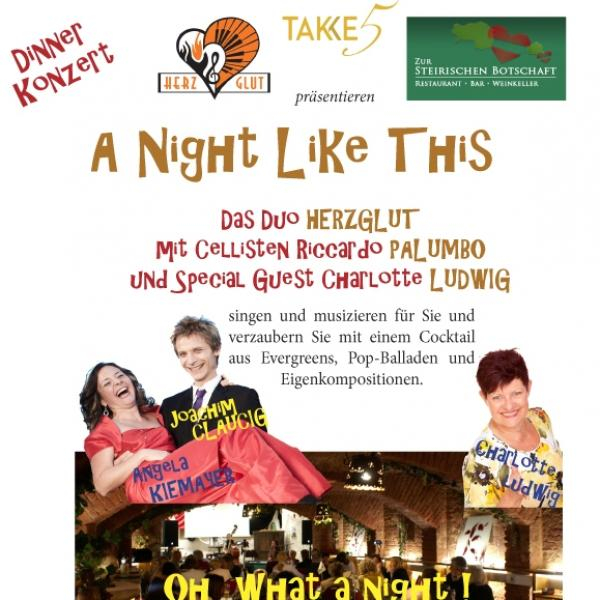 Dinnerkonzert: A night like this © Fortissimo Academy